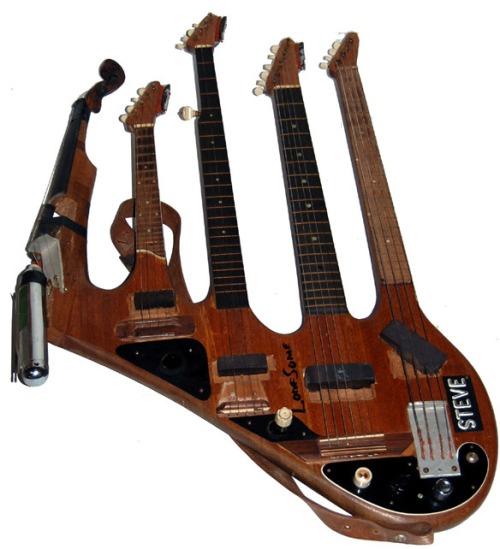Cgy-5-neck-guitar